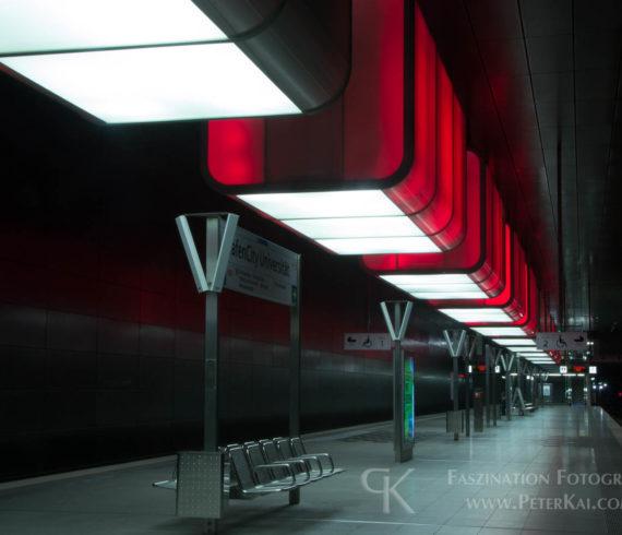 Hamburg - U4 - Haltestelle - HafenCity Universität