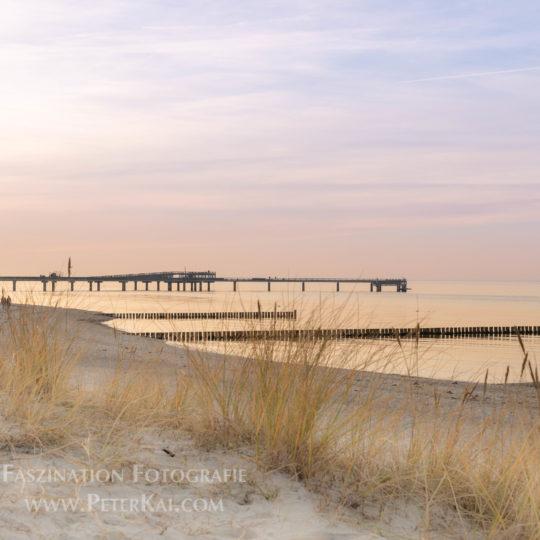 Heiligenhafen Strand Düne Seebrücke Naturschutzgebiet Graswarder Ostsee