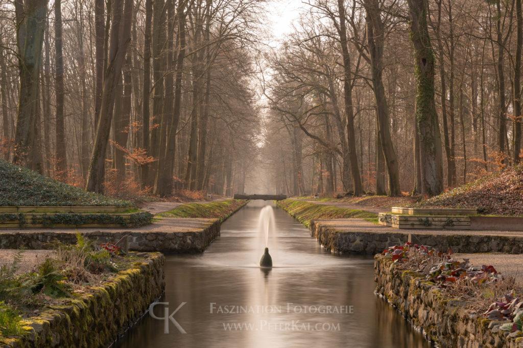 Ludwigsluster Schlosspark - Ludwigsluster Kanal - Mönch