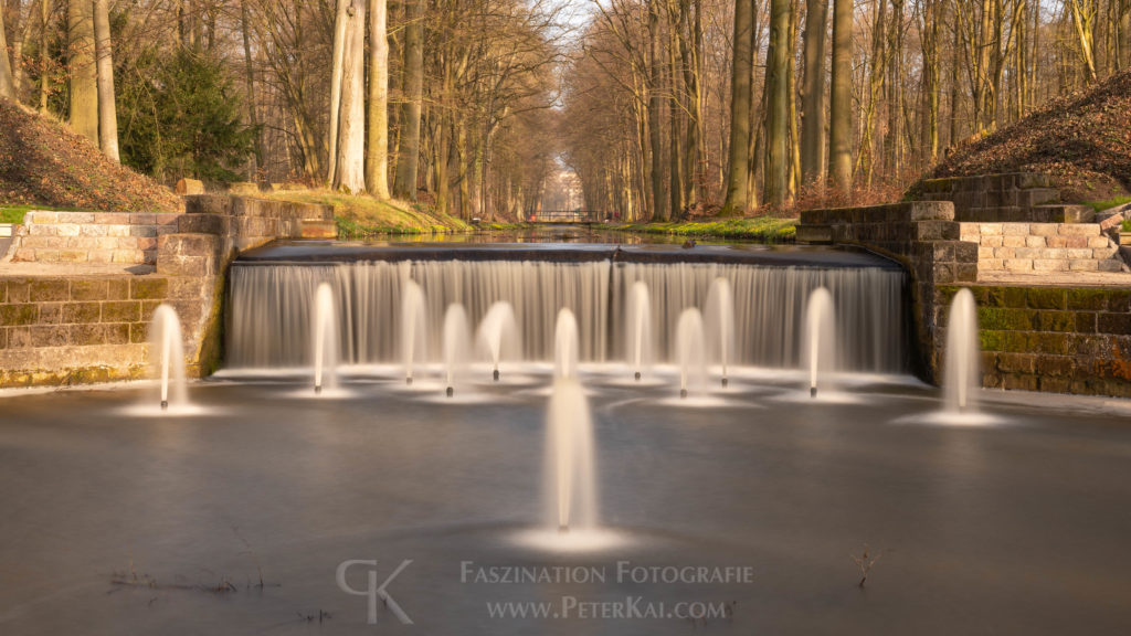 Ludwigsluster Schlosspark - Nonnen - Ludwigsluster Kanal