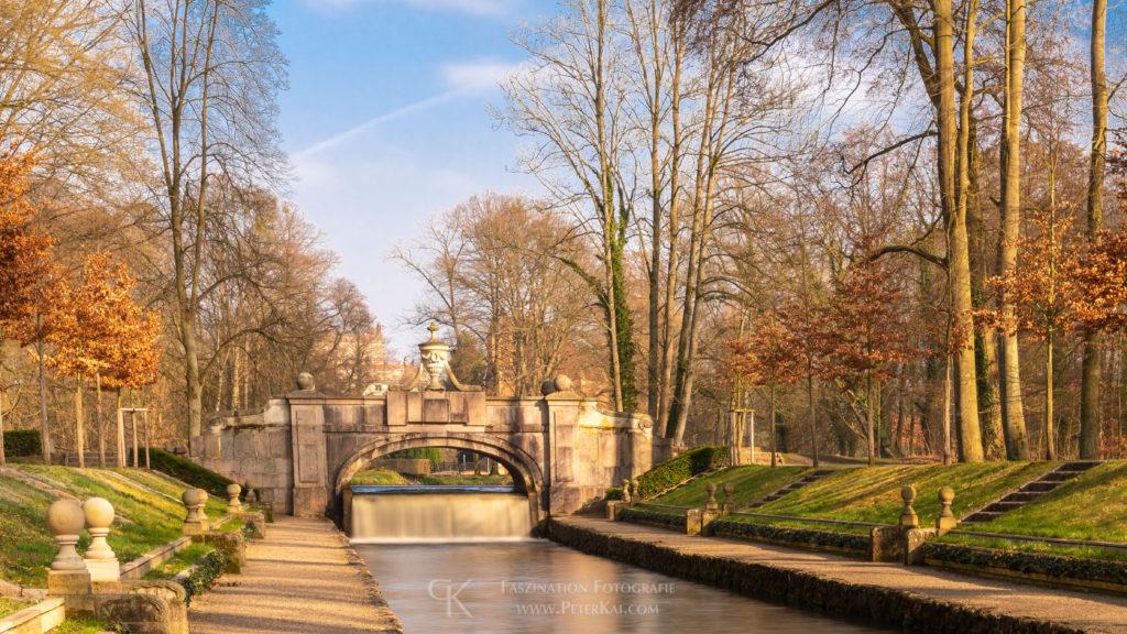 Ludwigsluster Schlosspark - Steinerne Brücke - Ludwigsluster Kanal