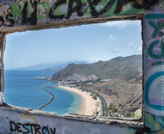 Teneriffa - Santa Cruz - Teresitas Strand - Playa de Las Teresit