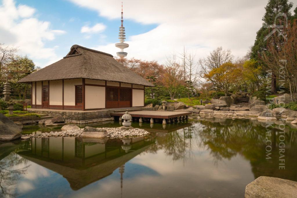 Hamburg - Planten un Blomen - Japanisches Teehaus