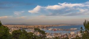 """Mallorca – Palma de Mallorca - Blick von """"Castell de Bellver"""