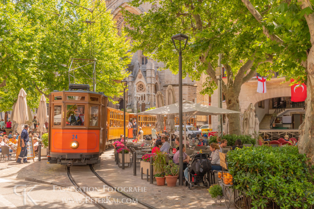 Mallorca - Sóller - Plaza Constitución - Tram