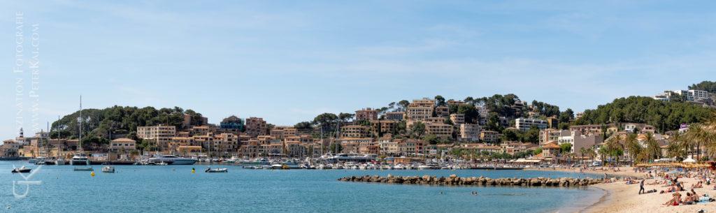 Mallorca -Bucht von Port Sóller