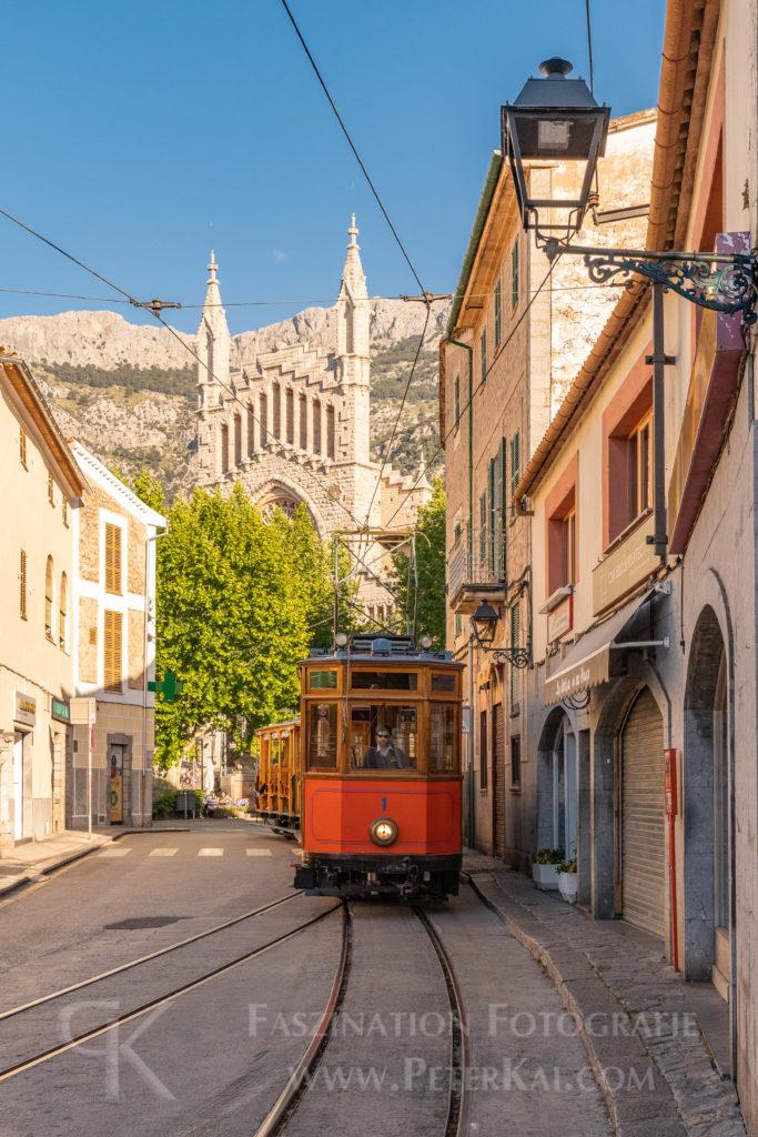 Mallorca - von Sóller mit der Tram nach Port Sóller