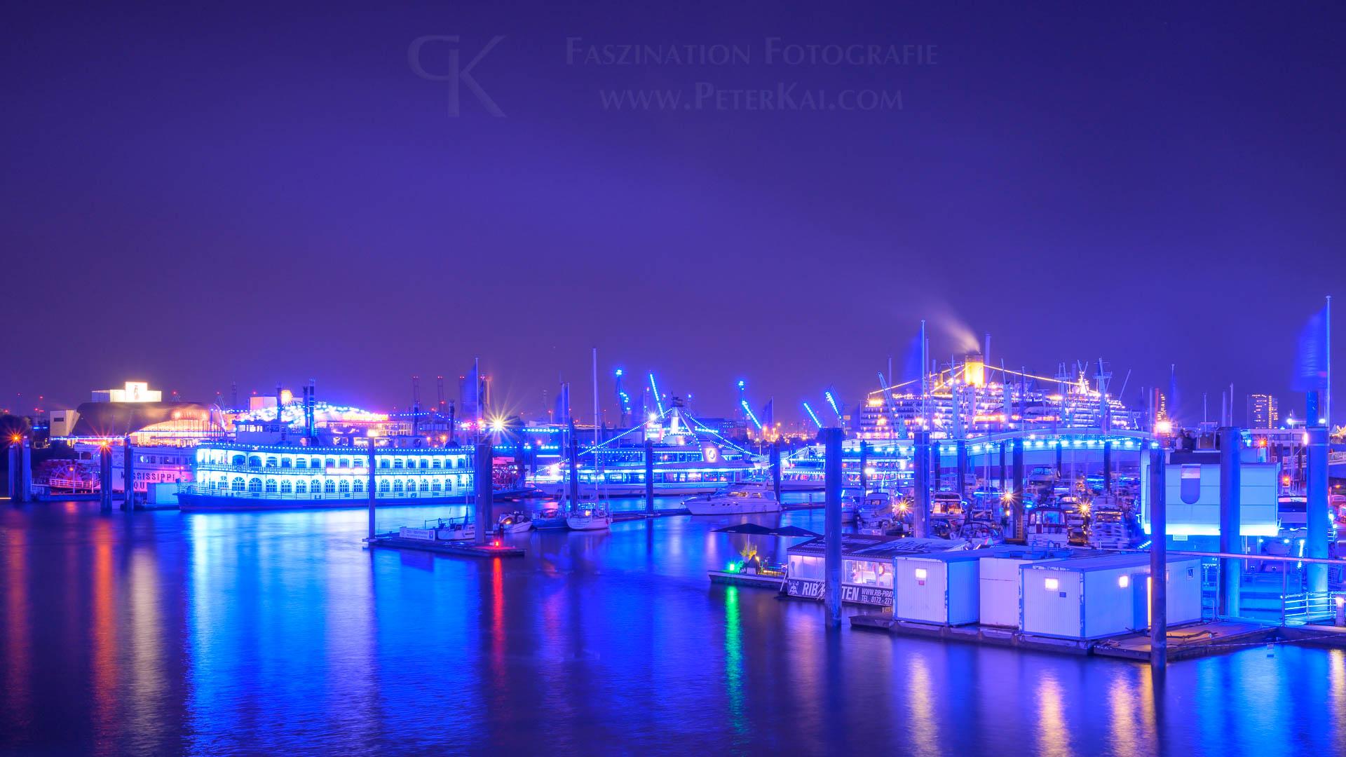 Hamburg - Blue Port 2019 - Blick von der Niederbaumbrücke