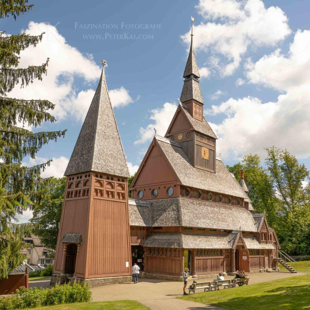 Harz - Stabkirche Hahnenklee